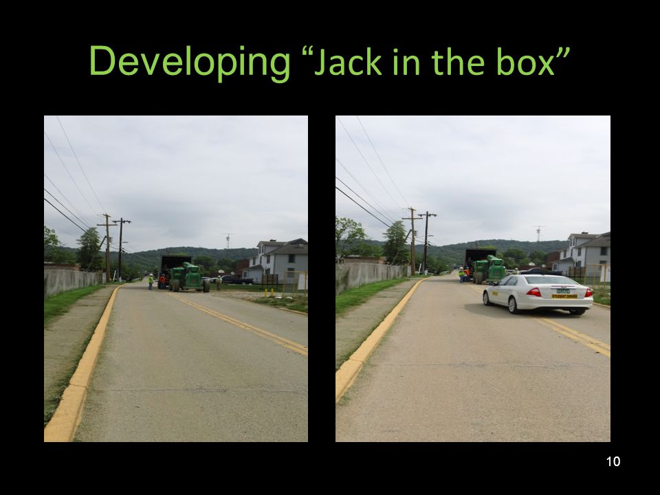 Developing Jack in the box