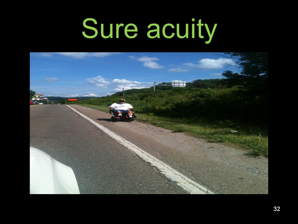 Sure acuity