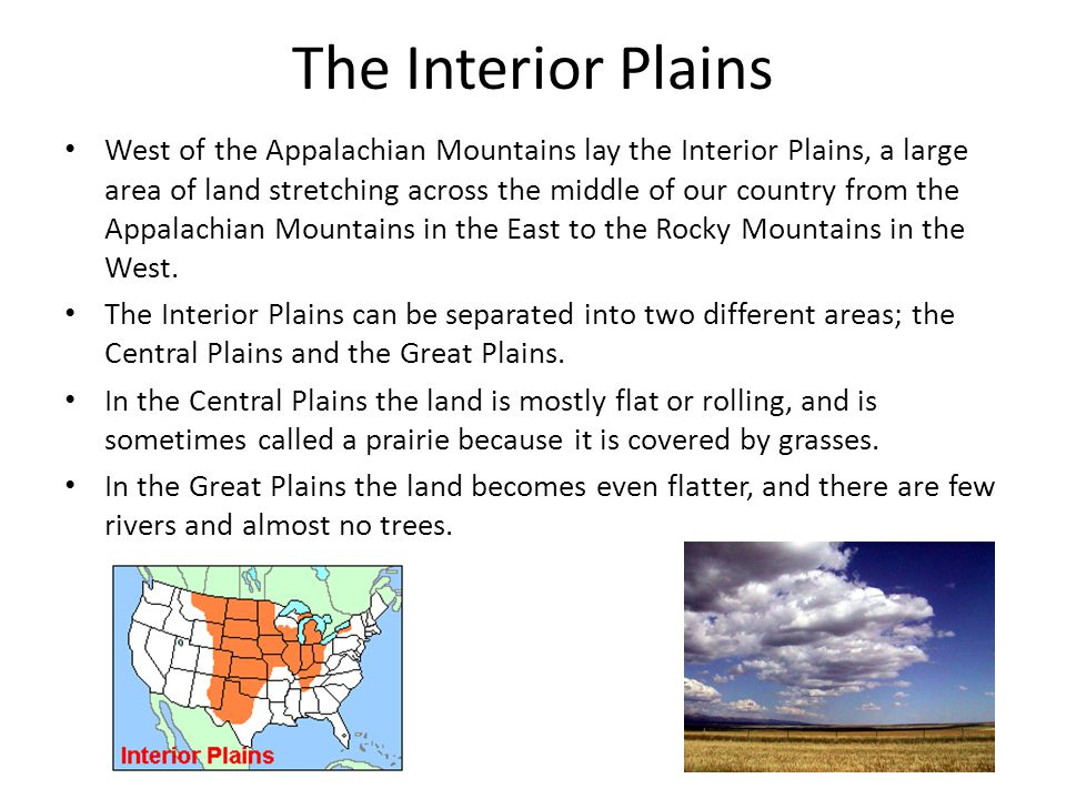 The Interior Plains