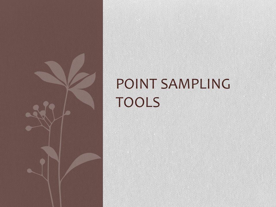 Point Sampling Tools