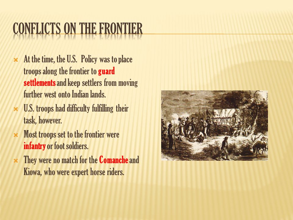Conflicts on the Frontier