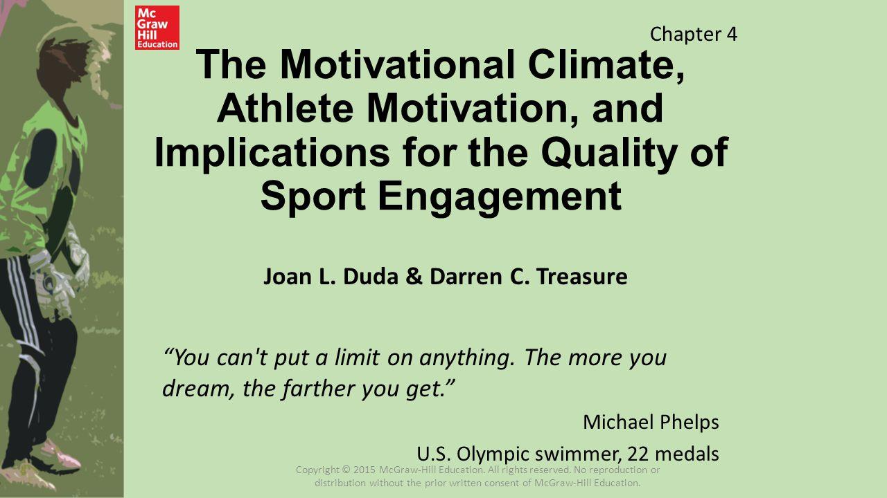 Joan L. Duda & Darren C. Treasure