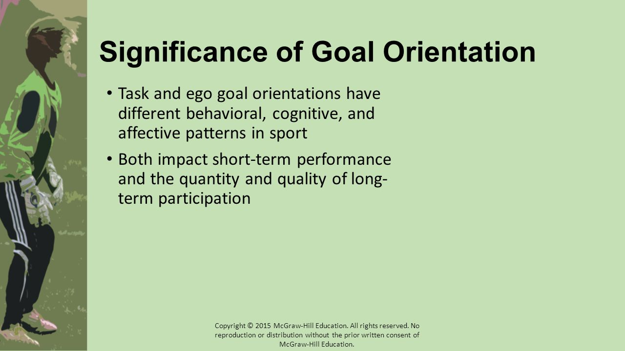 Significance of Goal Orientation