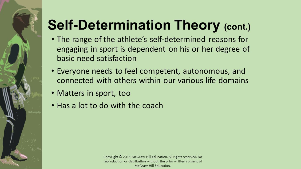 Self-Determination Theory (cont.)