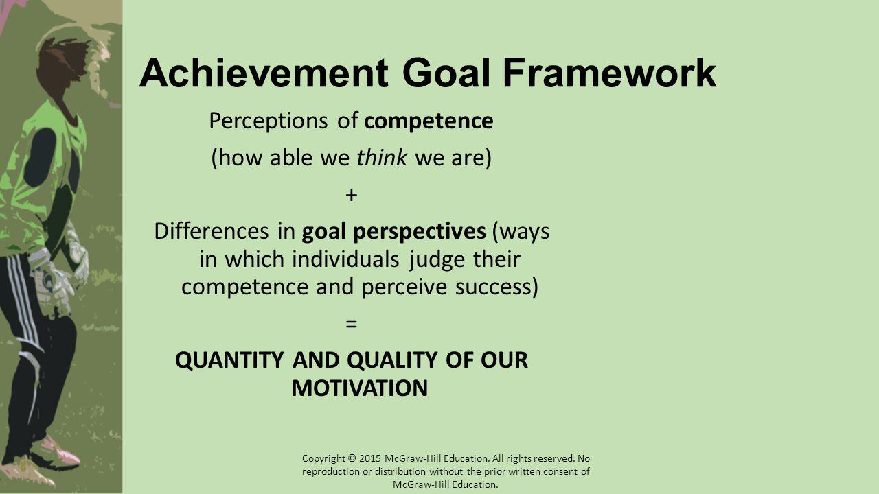 Achievement Goal Framework