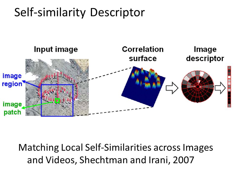 Self-similarity Descriptor