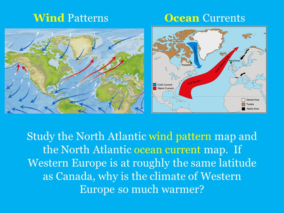Wind Patterns Ocean Currents.