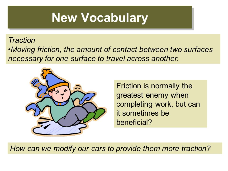 New Vocabulary Traction