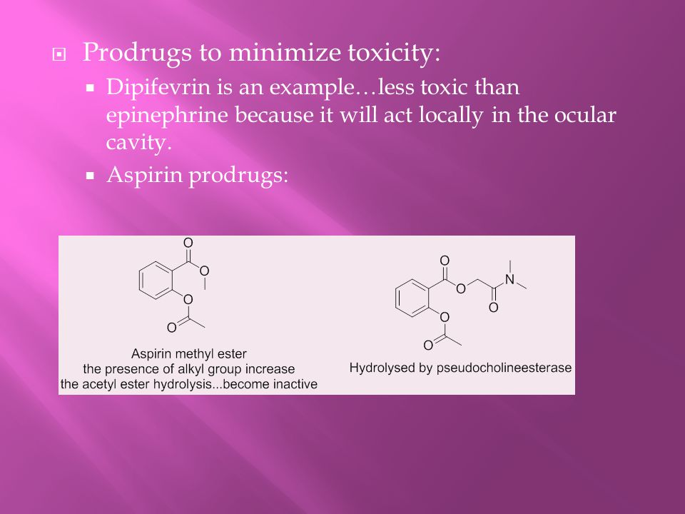 Prodrugs to minimize toxicity: