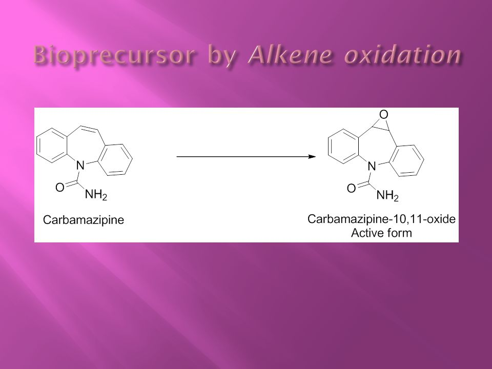 Bioprecursor by Alkene oxidation
