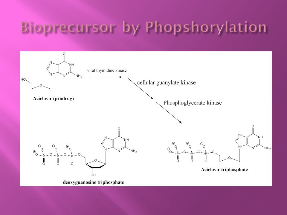 Bioprecursor by Phopshorylation