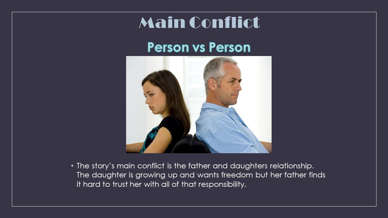 Main Conflict Person vs Person