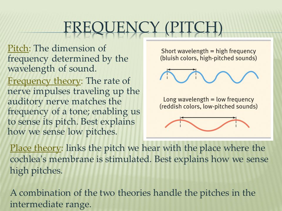 Frequency (Pitch)