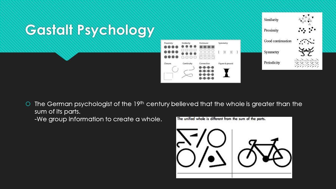 Gastalt Psychology