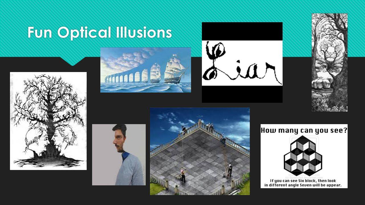 Fun Optical Illusions