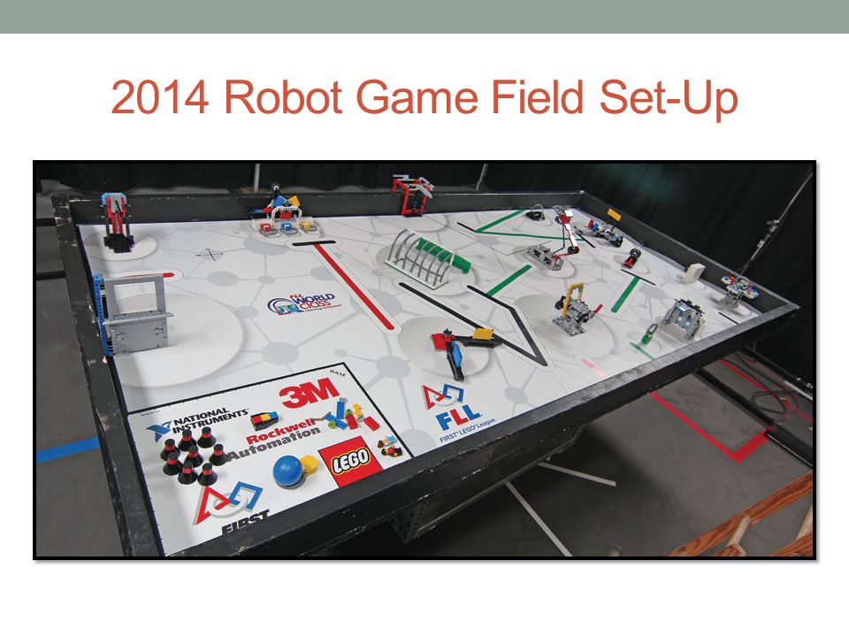 2014 Robot Game Field Set-Up