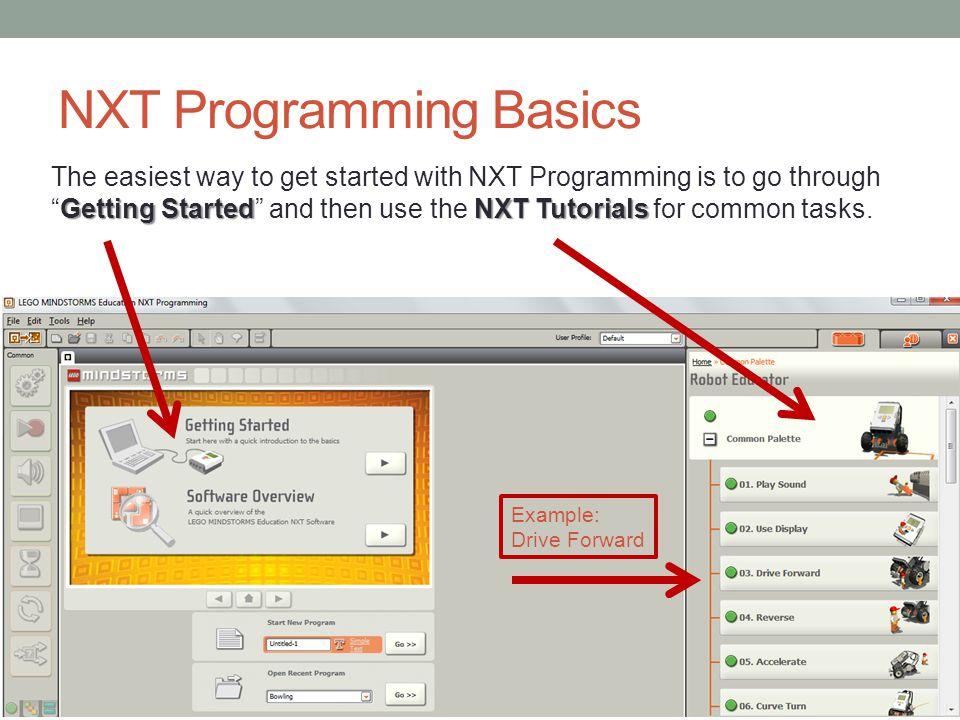 NXT Programming Basics