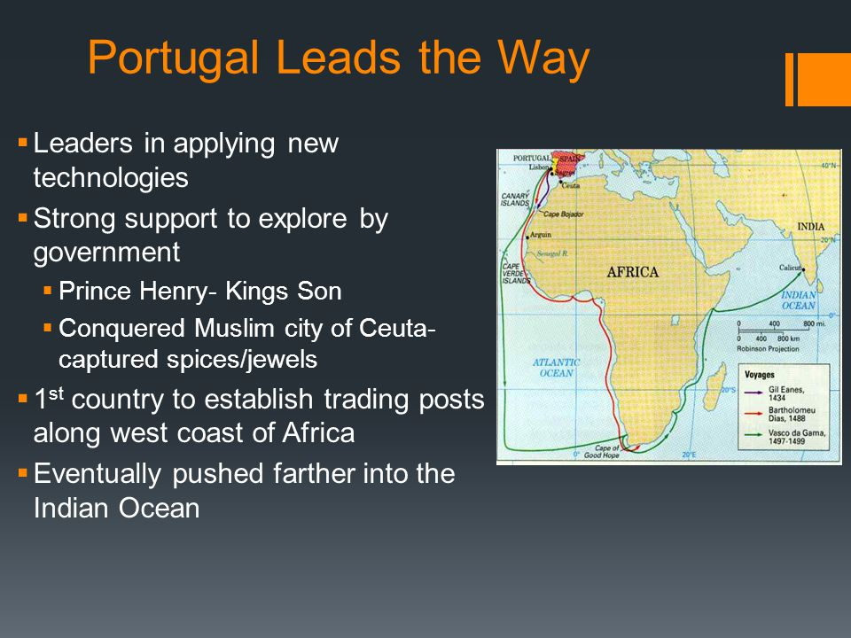 Portugal Leads the Way Leaders in applying new technologies