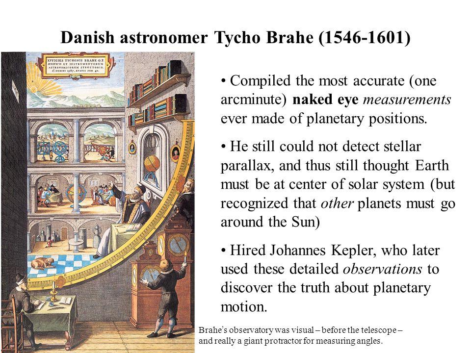 Danish astronomer Tycho Brahe (1546-1601)