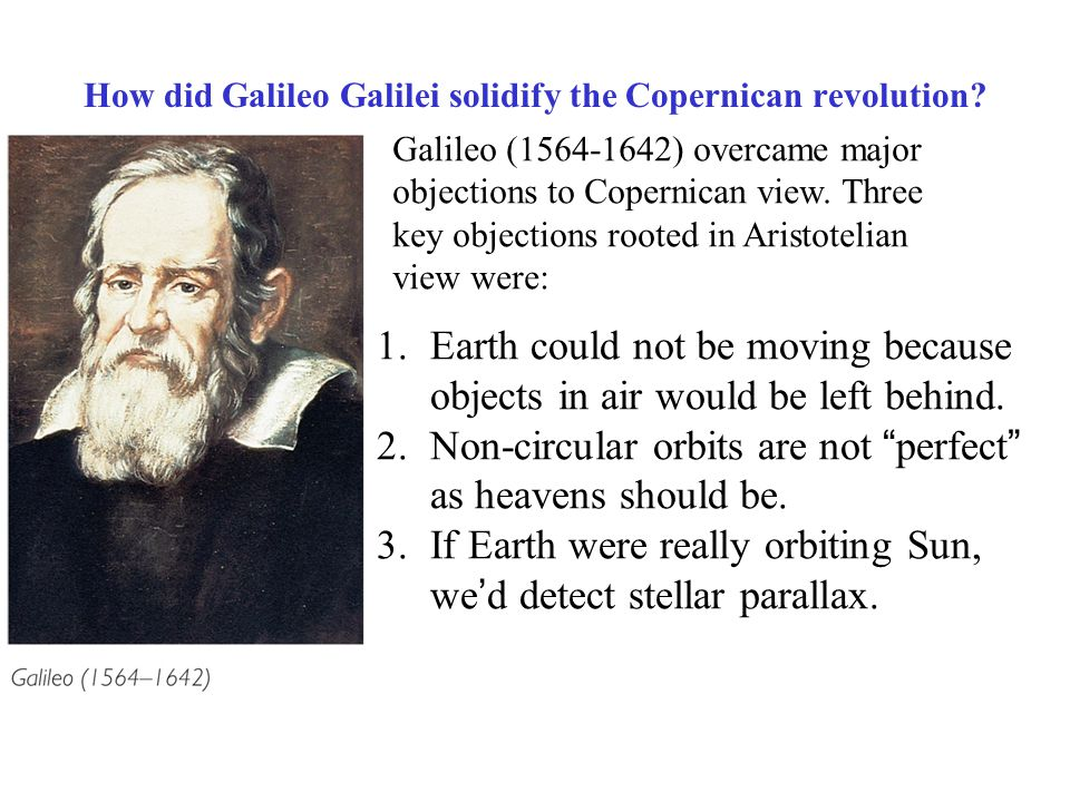 Galileo galilei and the scientific revolution