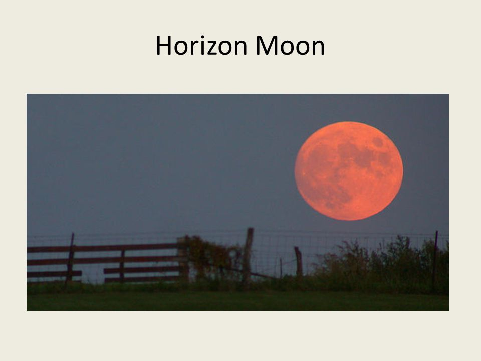 Horizon Moon