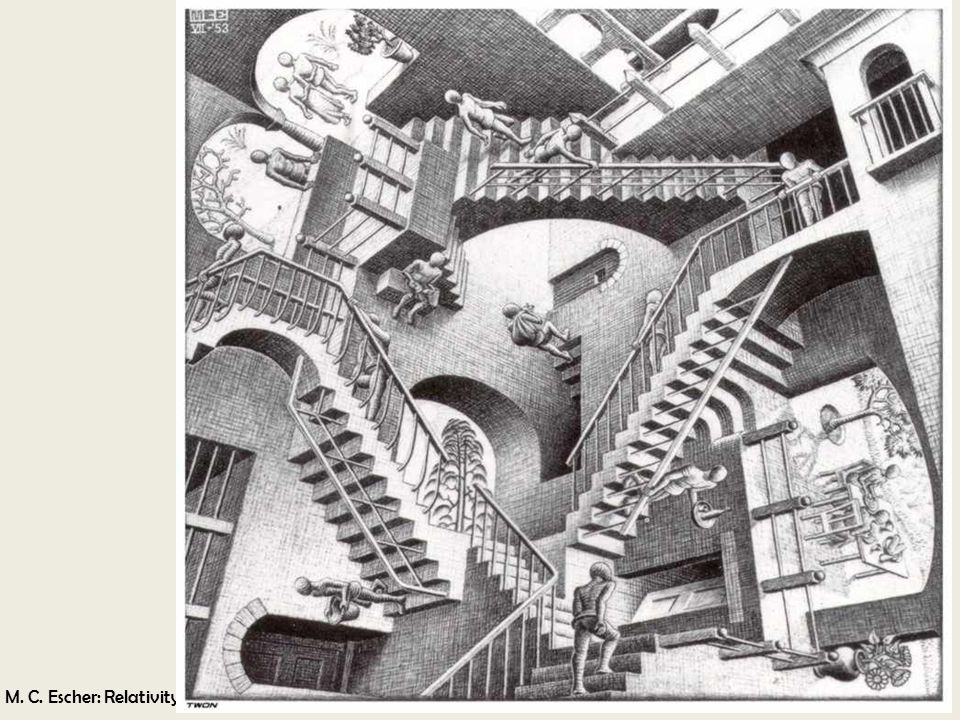 M. C. Escher: Relativity