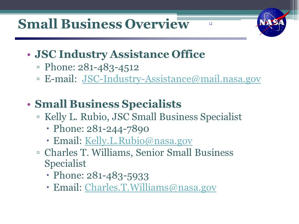 Small Business Overview
