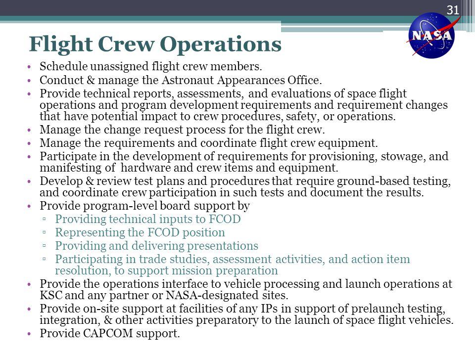 Flight Crew Operations