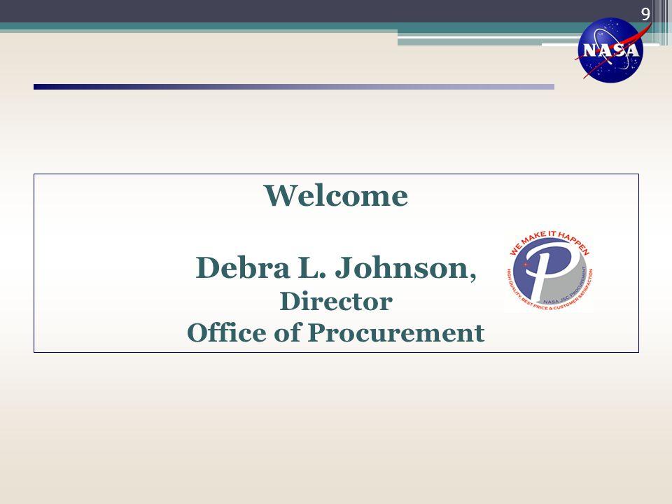 Welcome Debra L. Johnson,