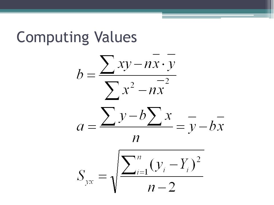 Computing Values