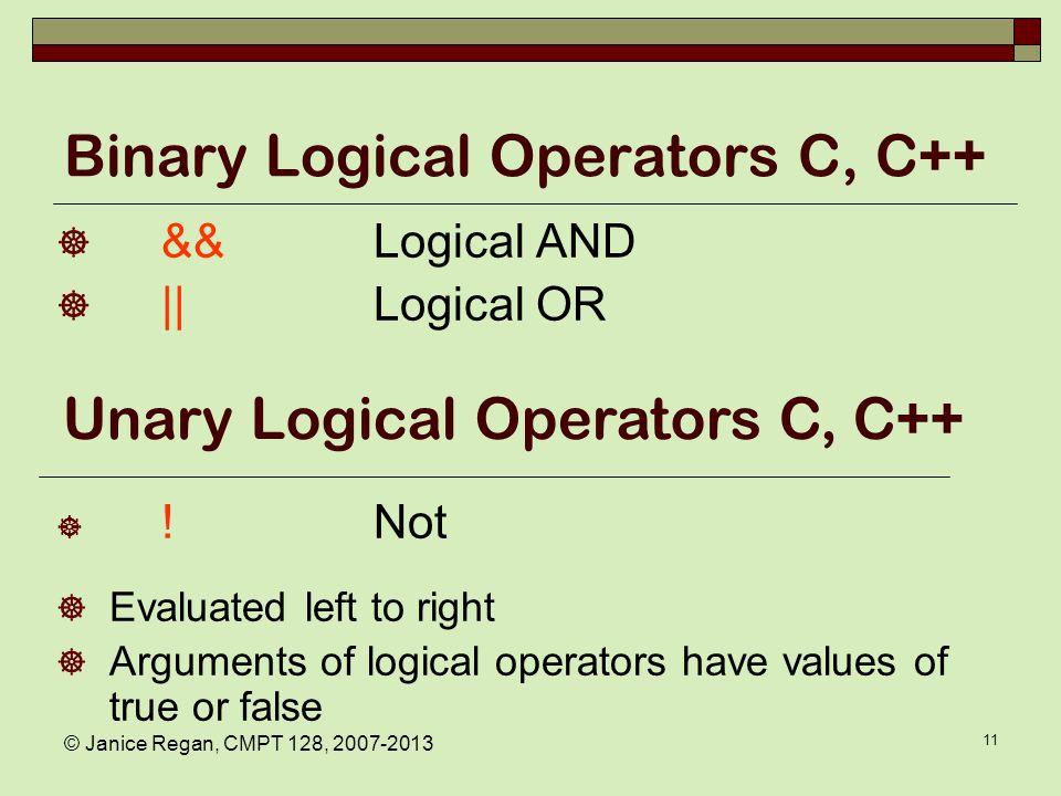 C and C++ Boolean values