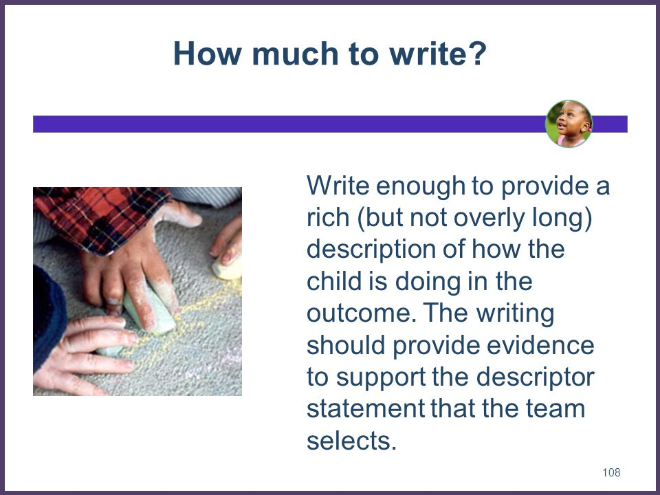 How much to write