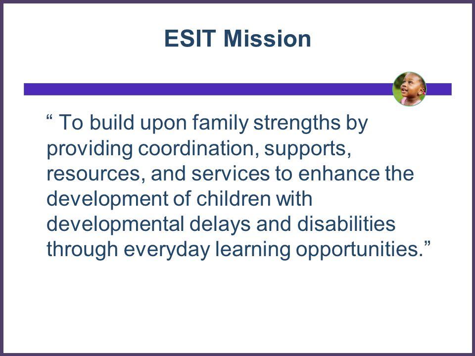 ESIT Mission