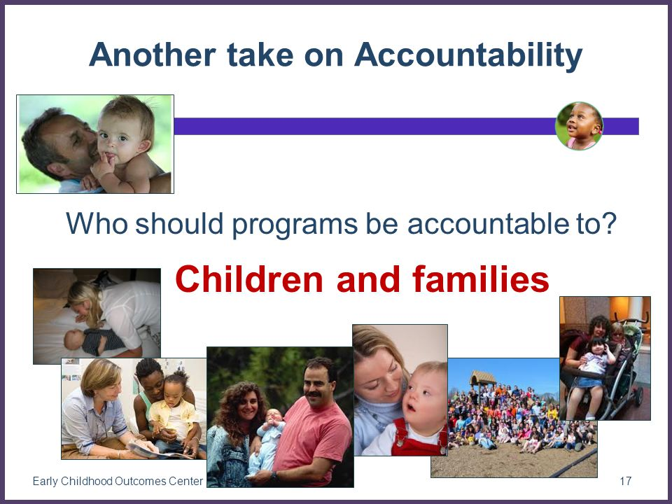 Another take on Accountability