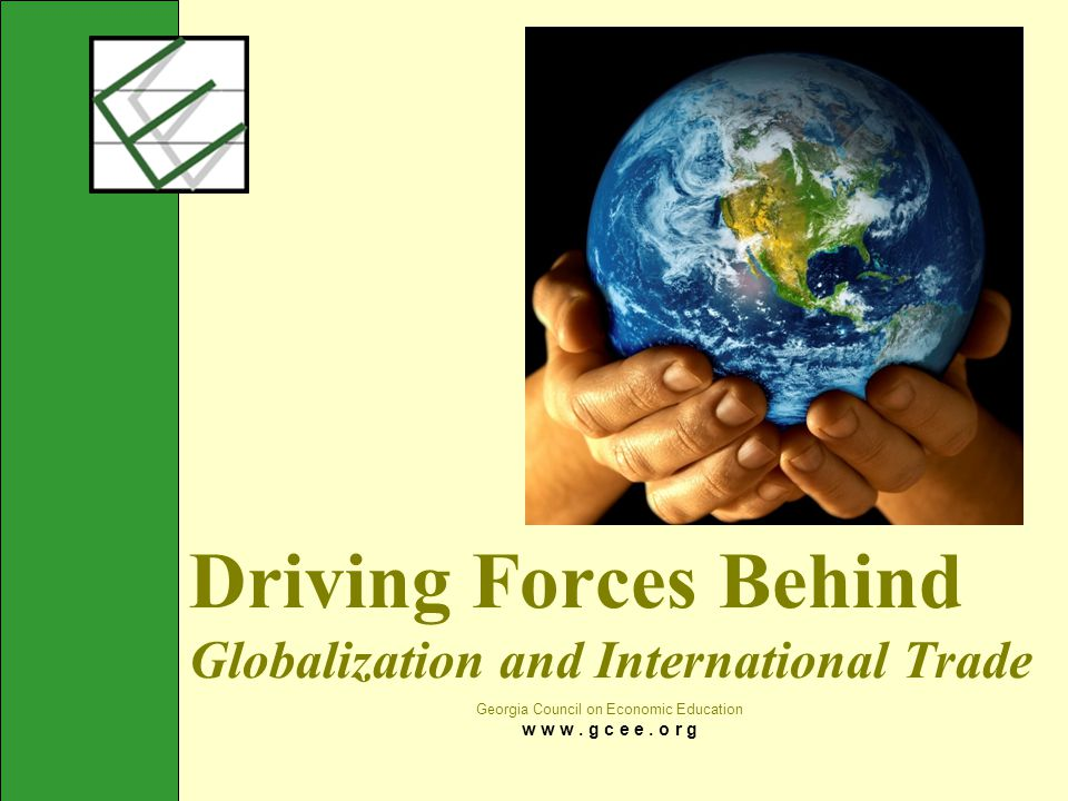 understanding the driving forces of globalization Ii abstract master thesis within business administration title: problems and challenges of global sourcing ----- a study of chinese manufacturing enterprises.