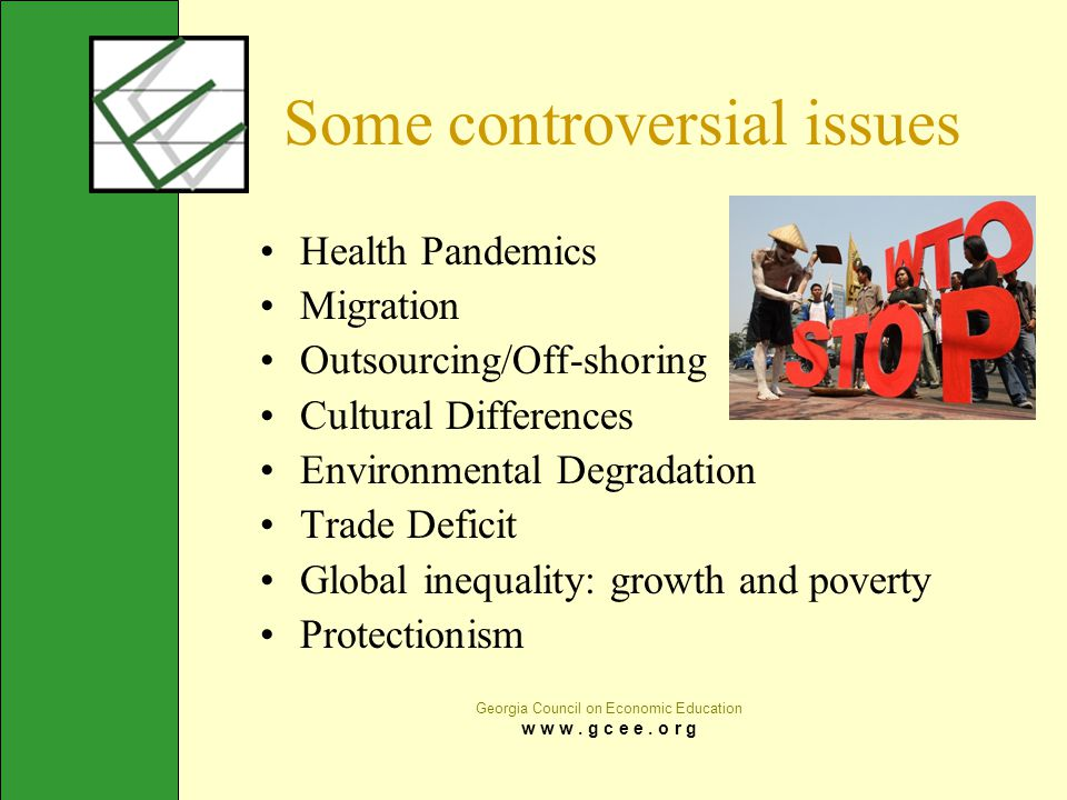 Some controversial issues