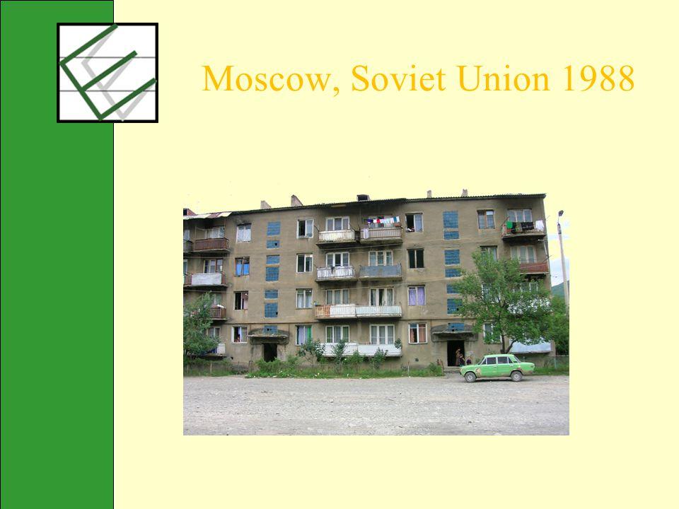 Moscow, Soviet Union 1988