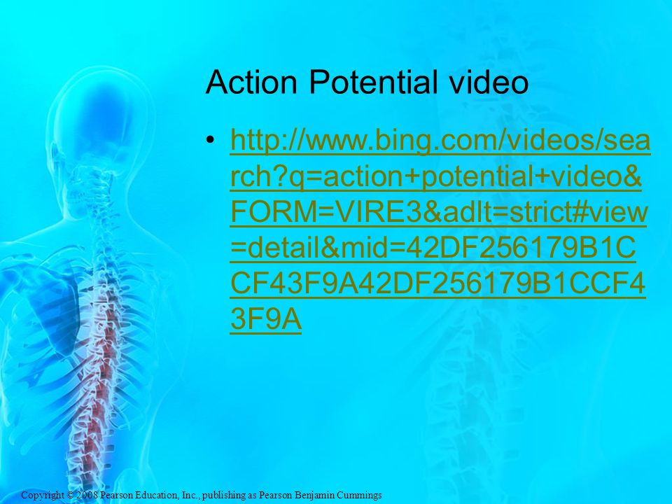 Action Potential video
