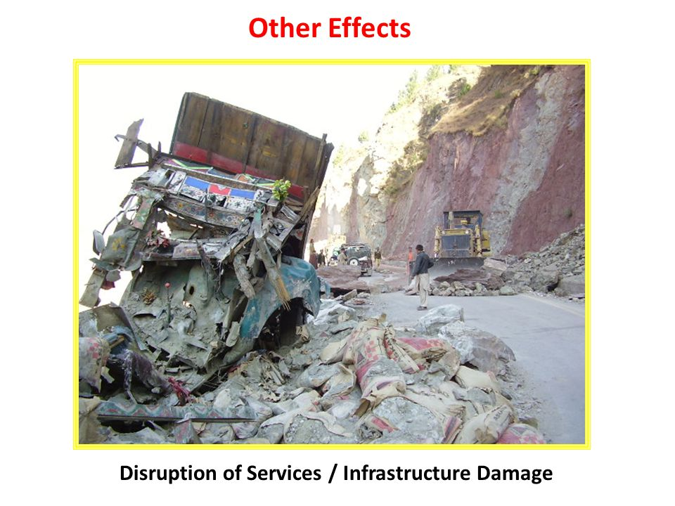 Disruption of Services / Infrastructure Damage