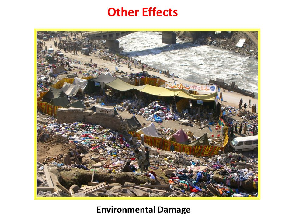 Other Effects Environmental Damage