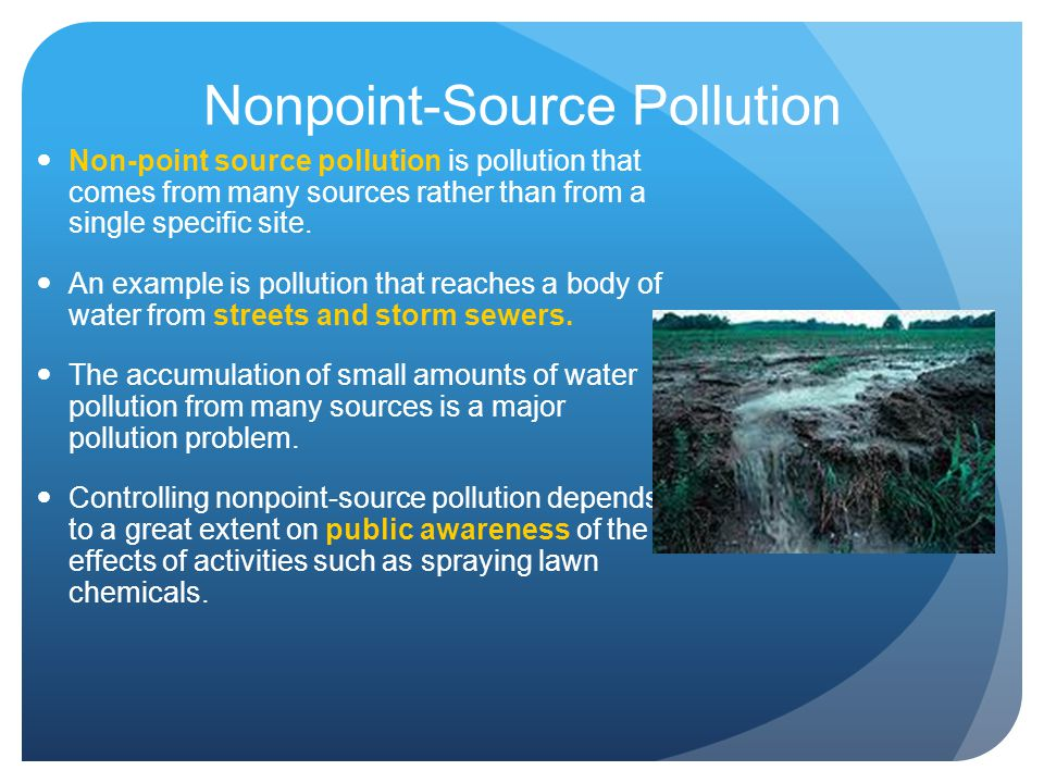 Nonpoint-Source Pollution