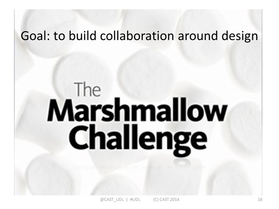 Goal: to build collaboration around design