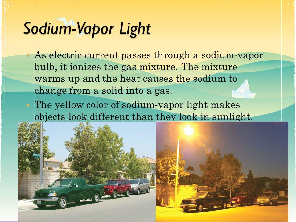 Sodium-Vapor Light