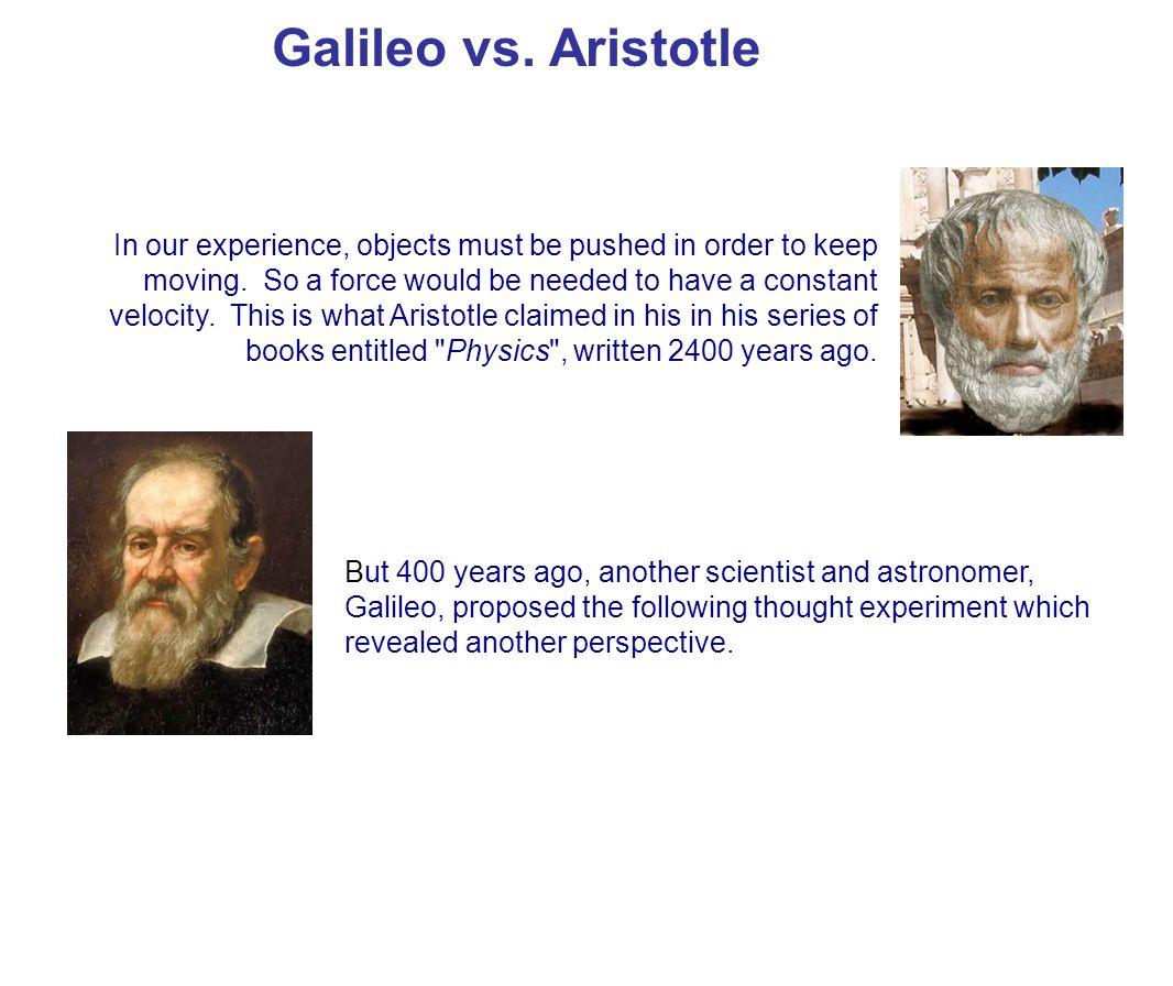 Galileo vs. Aristotle