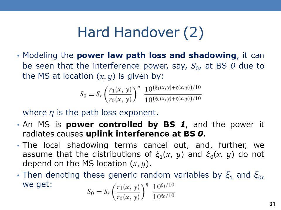 Hard Handover (2)