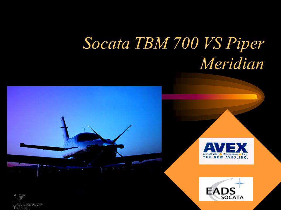 Socata TBM 700 VS Piper Meridian