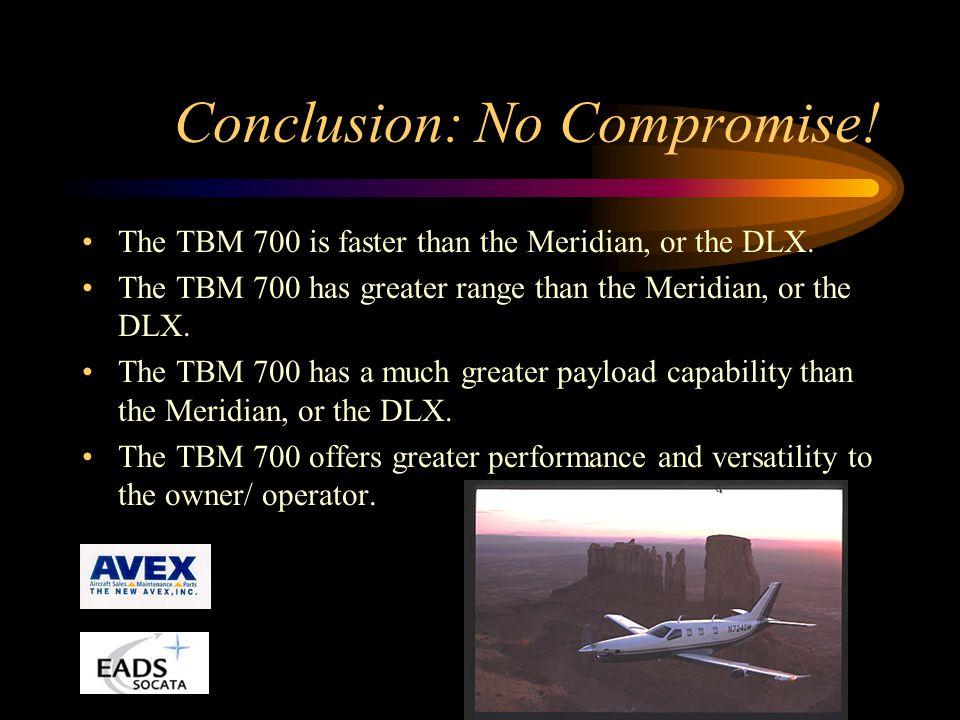 Conclusion: No Compromise!