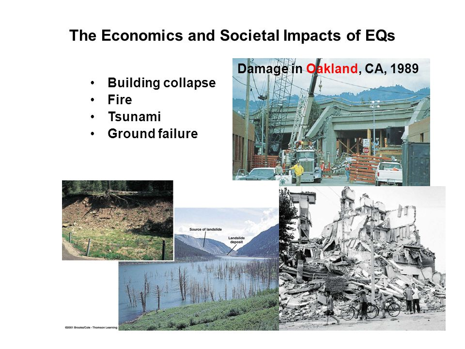 The Economics and Societal Impacts of EQs