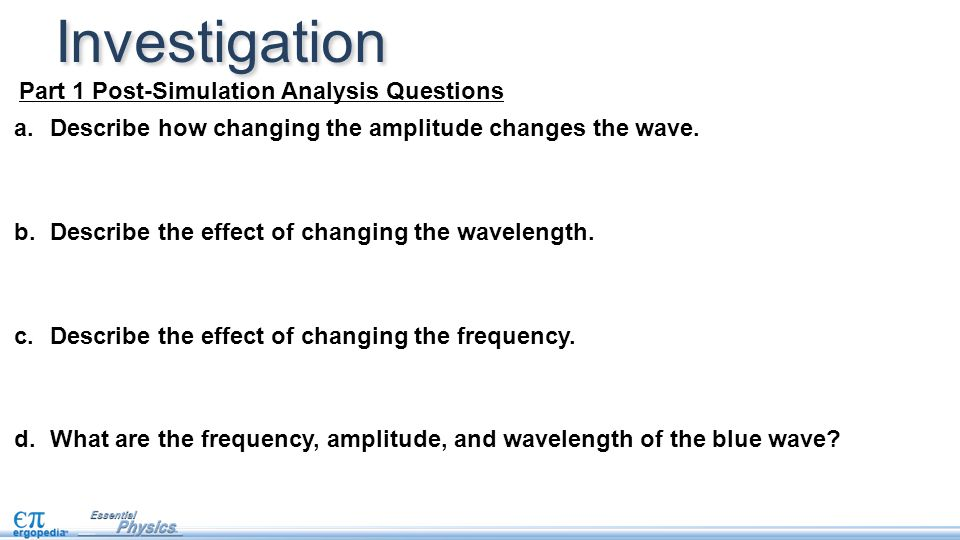 Investigation Part 1 Post-Simulation Analysis Questions