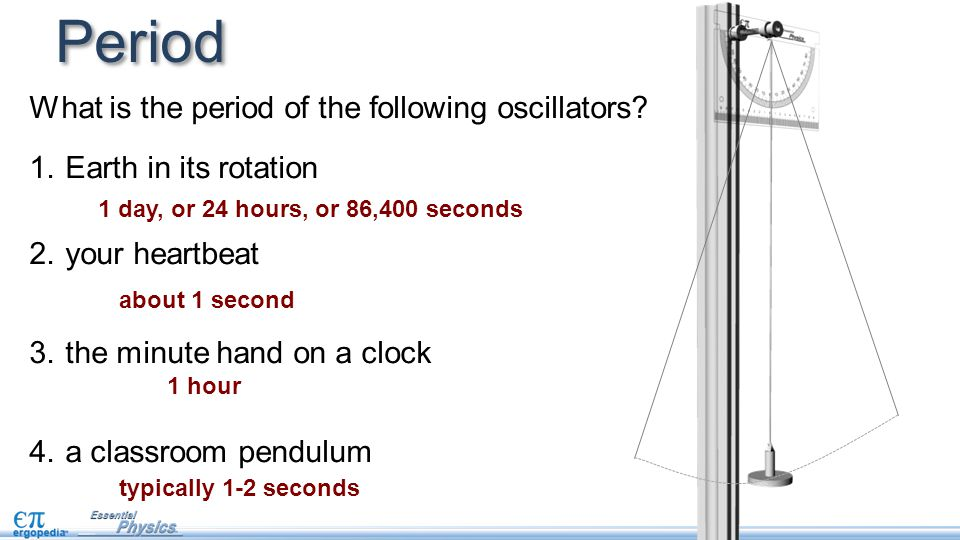 Period What is the period of the following oscillators